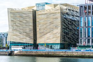 CENTRAL BANK OF IRELAND NEW HEADQUARTERS [NORTH WALL QUAY]-1324671