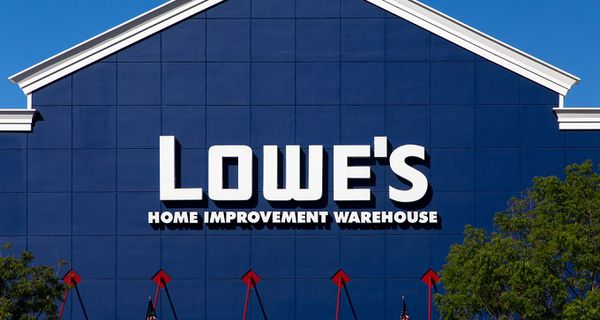 Image of Lowe's store