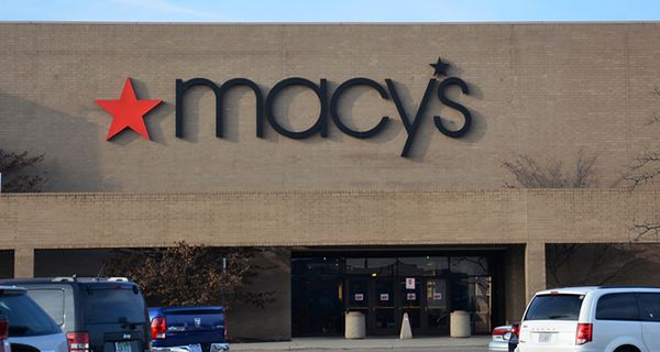 Image of Macy's store entrance