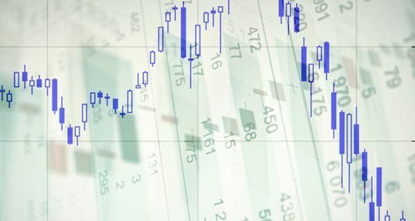 Image of chart showing volatility