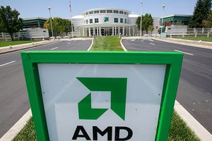 Image of AMD sign