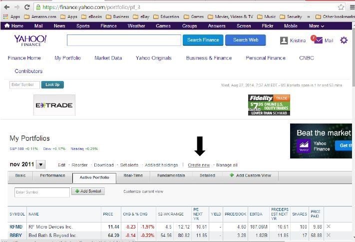 How To Use The Top Yahoo! Finance Tools