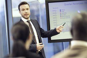 Financial Advisor Presents His Strategy