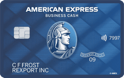 American Express® Blue Business Cash Card