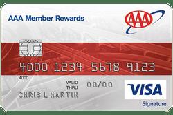 AAA Member Rewards Visa®