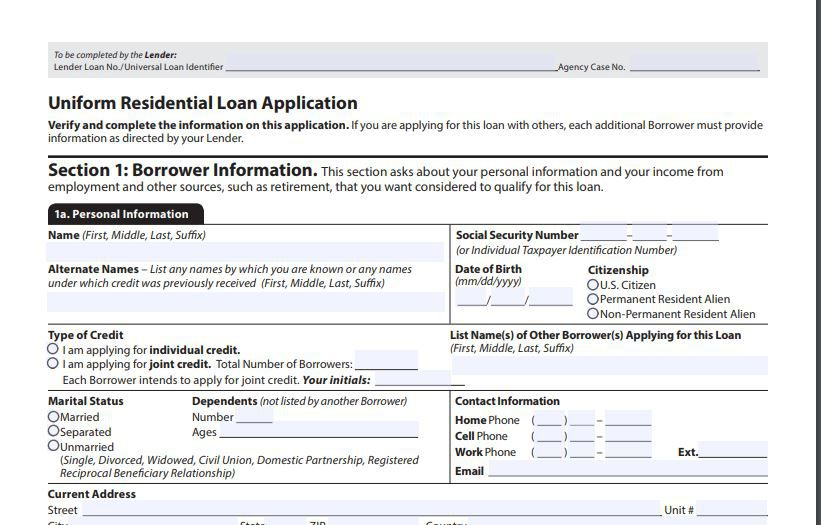 Mortgage Application Definition