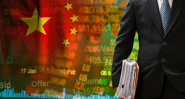 Image of China stock market