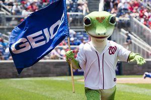 Geico gecko mascot