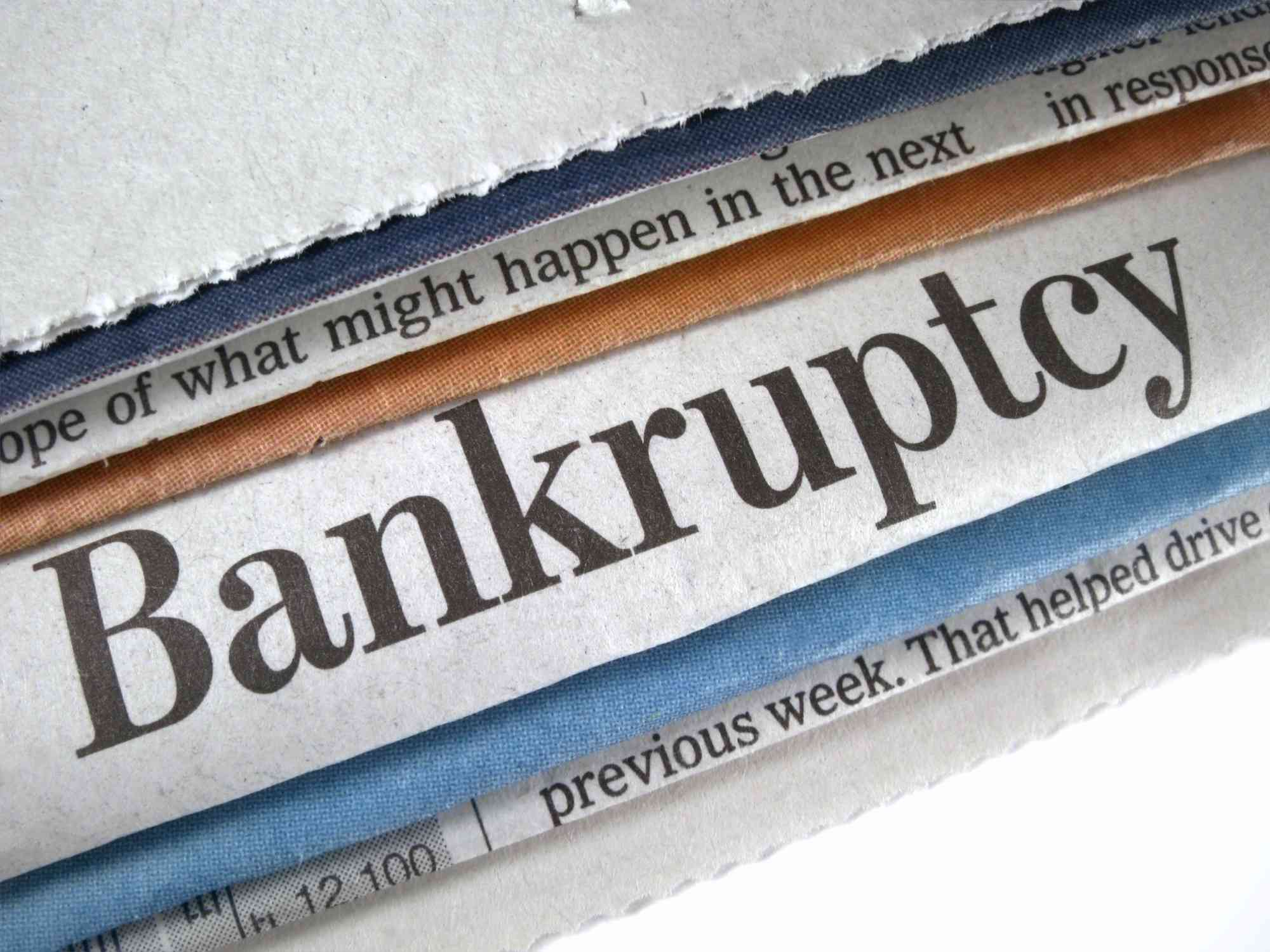 Corporations file Chapter 11 to reorganize debt