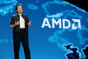 AMD CEO and Logo