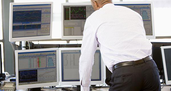 Image of trading monitoring screens