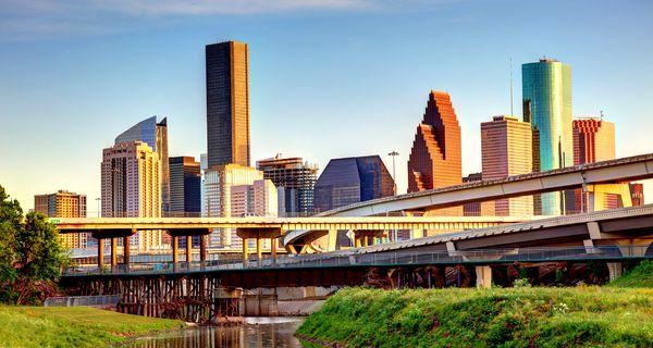 Downtown Houston Texas Skyline