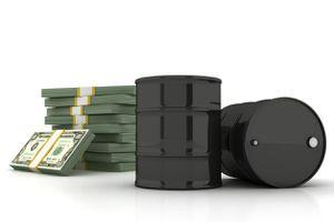 Oil Barrels and U.S. Dollars
