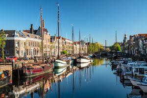 Delfshaven, Rotterdam, Netherlands, Europe