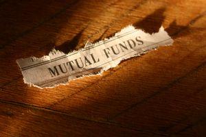 A torn Mutual Funds newspaper heading.