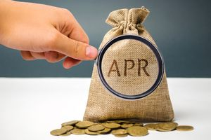 The APR is a financial fee, expressed as an annual rate.
