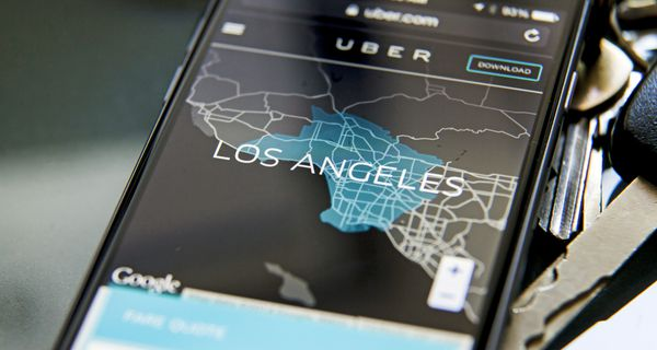 Uber is available in 500 worldwide cities, including Los Angeles.