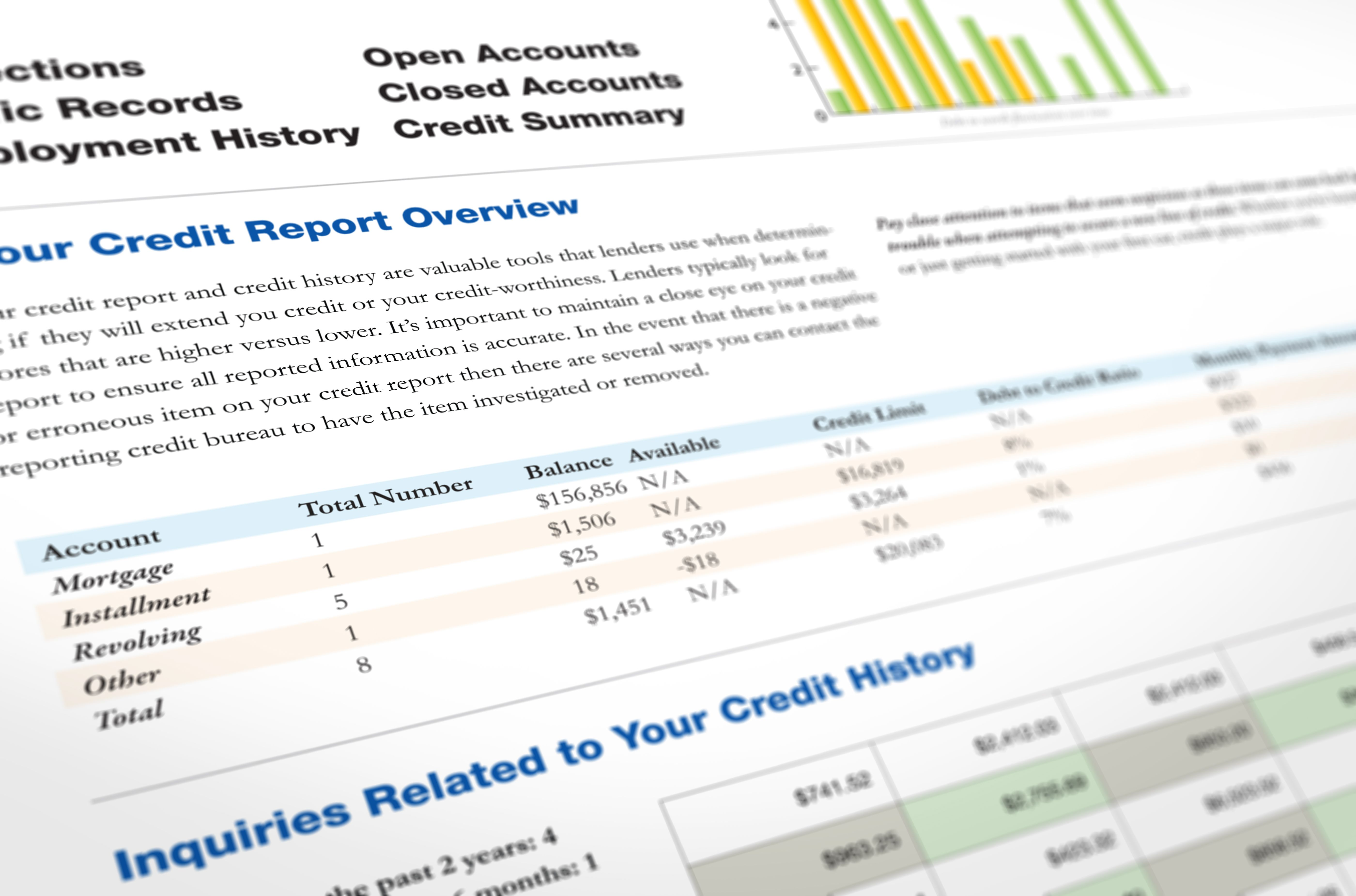 How Long Does Negative Information Stay on Your Credit Report?