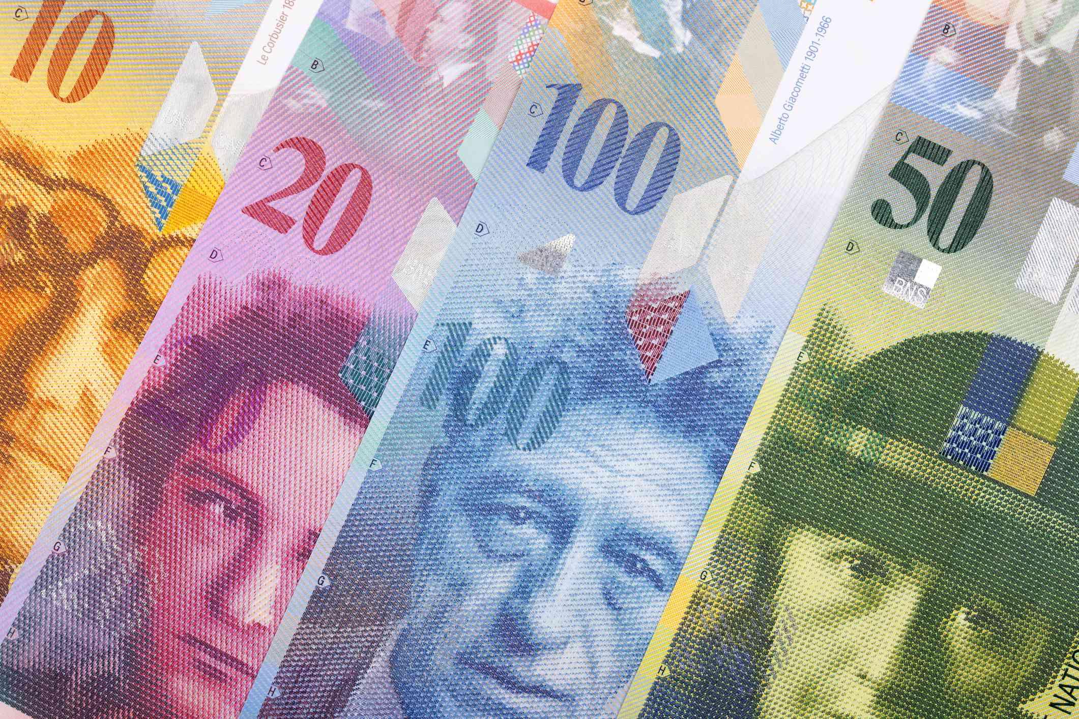 Swiss Franc Series 8