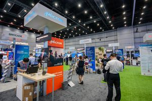 Image of Micron booth