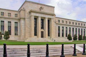 Federal Reserve headquarters in Washington, DC