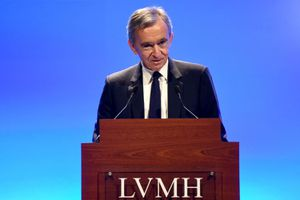 French Luxury Group LVMH Chairman and Chief Executive Officer Bernard Arnault