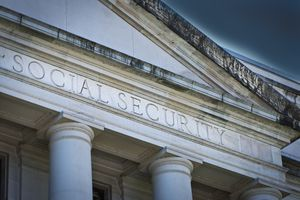 The U.S. government Social Security Agency Building.