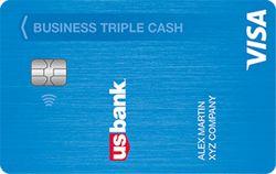 U.S. Bank Triple Cash Rewards Visa® Business Card