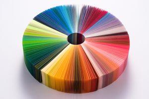 A multi-colored wheel depicts portfolio diversity