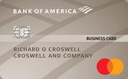 Platinum Plus® Mastercard® Business card