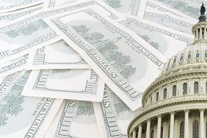 Congress with $100 bills