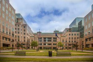 FDIC headquarters building in Arlington, Virginia. (Federal Deposit Insurance Corporation, Washington, DC area)