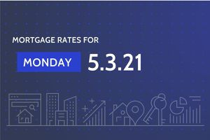 Today's Mortgage Rates 5.3.21