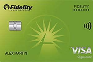 Fidelity Rewards Visa Signature