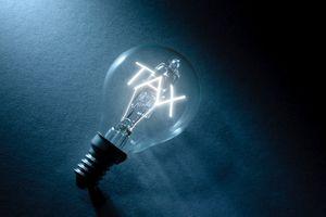 Tax light bulb