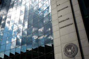 Securities and Exchange Commission headquarters.