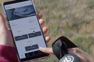 Kia UVO phone app telematics options.