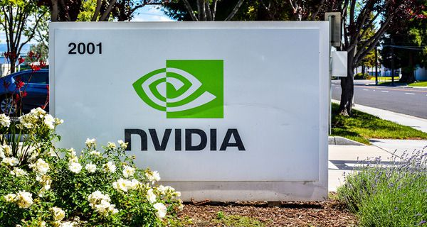 Image of NVIDIA sign