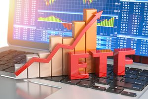 ETF Exchange Traded Funds Concept