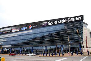 Scottrade Center exterior, 2012