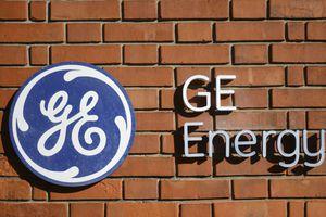 Genereal Energy logo on a brick wall.
