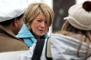 Martha Stewart Starts Home Confinement