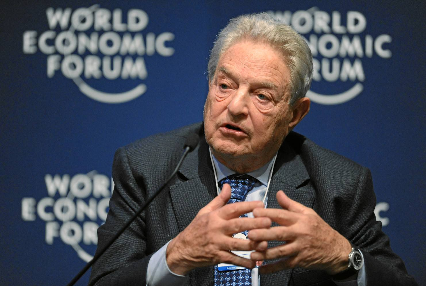 Used under a Creative Commons license at https://commons.wikimedia.org/wiki/File:George_Soros_-_World_Economic_Forum_Annual_Meeting_2011.jpg