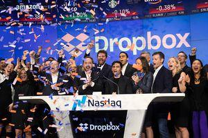 Dropbox Debuts On Nasdaq Exchange