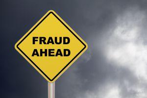 Crossing Sign - Fraud Ahead