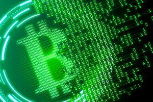 The official green Bitcoin Cash logo.