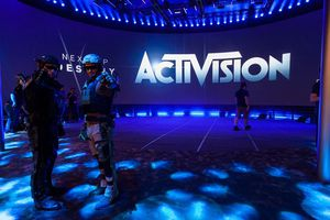Image of Activision display