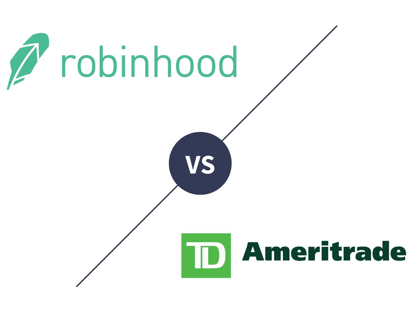 Robinhood vs  TD Ameritrade 2019