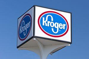 Kroger Outdoor Sign