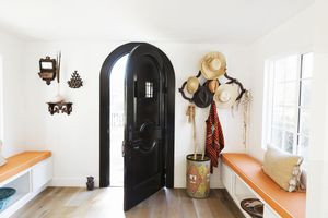 Bright, open foyer